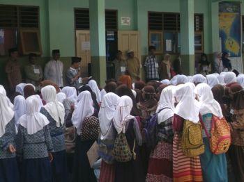 Ujian Akhir Siswa DTA Se-Kabupaten Pangandaran