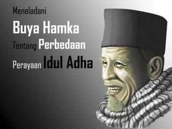 Meneladai Buya Hamka Tentang Perbedaan Idul Adha