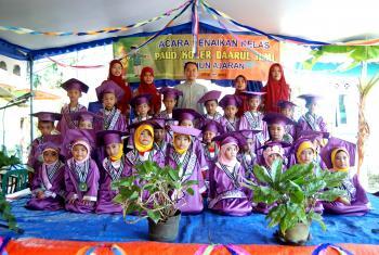 Acara Kenaikan Kelas Tahun Ajaran 2014-2015