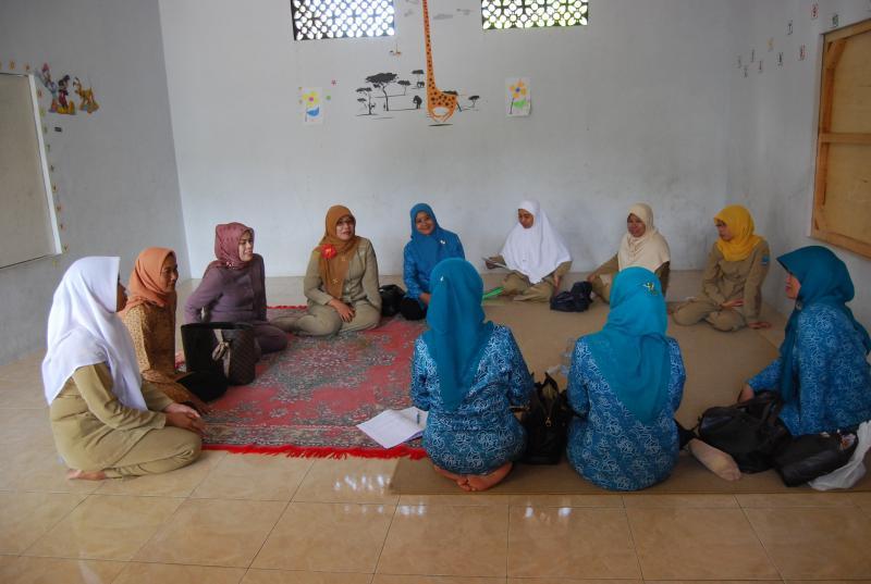 Kunjungan PKK Kabupaten Pangandaran